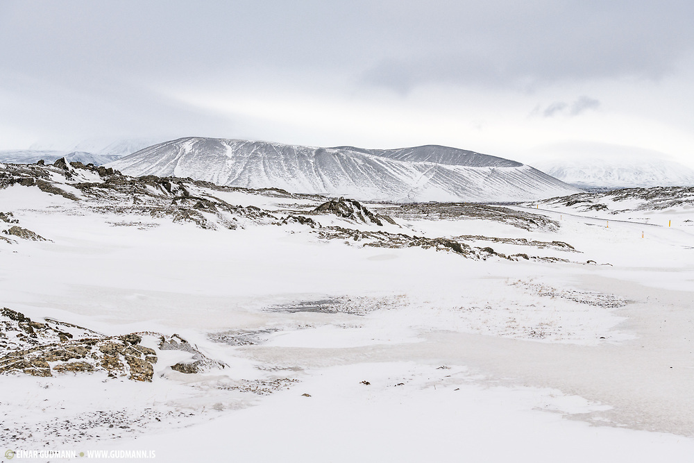 Hverfell in Northeast-Iceland