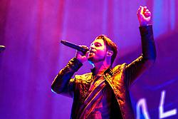 """17.04.2015, Ruhrcongresscenter, Bochum, GER, Unheilig, Gipfelstürmer Tournee 2015, im Bild Jürgen Plangger (Saenger) der Vorband A life Devided // performs live on stage during the 2015 tour """"Gipfelsturmer"""" at Ruhrcongresscenter in Bochum, Germany on 2015/04/17. EXPA Pictures © 2015, PhotoCredit: EXPA/ Eibner-Pressefoto/ Hommes<br /> <br /> *****ATTENTION - OUT of GER*****"""