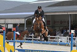 Bourguignon Vincent, BEL, Puskas De Kalvarie<br /> 4 years old Horses<br /> BK Young Horses Gesves 2021<br /> © Hippo Foto - Julien Counet