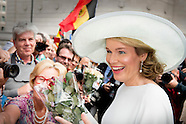 NATIONAL FEAST DAY BELGIUM 2015 Queen Mathilde of Belgium and King Philippe - Filip of Belgium