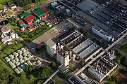 Nederland, Zuid-Holland, Zoeterwoude, 15-07-2012; Zoeterwoude-Rijndijk, Heineken brouwerij.Beer brewery Heineken, storage and beer crates..luchtfoto (toeslag), aerial photo (additional fee required).foto/photo Siebe Swart