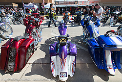 The Harley-Davidson Editors Choice Custom Bike Show during the annual Sturgis Black Hills Motorcycle Rally. SD, USA. August 9, 2016. Photography ©2016 Michael Lichter.