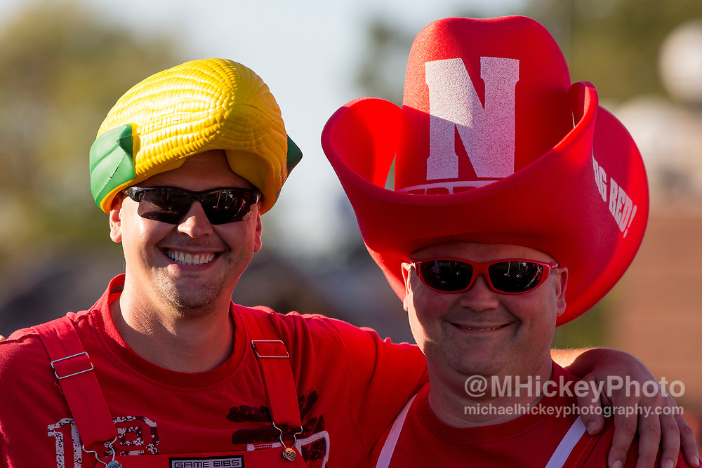 CHAMPAIGN, IL - SEPTEMBER 29: Nebraska Cornhuskers fans are seen before the game against the Illinois Fighting Illini at Memorial Stadium on September 29, 2017 in Champaign, Illinois. (Photo by Michael Hickey/Getty Images)