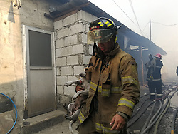 March 20, 2019 - Quezon City, Philippines - 200 homes were gutted and more than 700 families were affected by a fire that reaches general alarm in Barangay Damayang Lagi, Quezon City. No casualties have been reported. (Credit Image: © Sherbien Dacalanio/Pacific Press via ZUMA Wire)