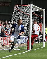 Photo: Mark Stephenson.<br /> Walsall v Birmingham City. Pre Season Friendly. 28/07/2007.Birmingham's new signing Mikael Fossell scores