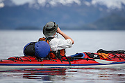 Photographing from Kayak in Prince William Sound Alaska