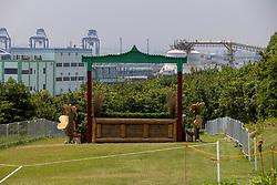 Fence 1<br /> Olympic Games Tokyo 2021<br /> © Hippo Foto - Dirk Caremans<br /> 28/07/2021