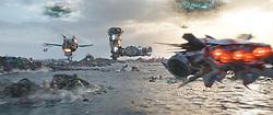 Marvel Studios' THOR: RAGNAROK<br /> <br /> Sakaar<br /> <br /> Ph: Teaser Film Frame<br /> <br /> ©Marvel Studios 2017