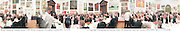Royal Academy Annual dinner 1998. Royal Academy, Piccadilly, London W1. 27/5/98<br />© Copyright Photograph by Dafydd Jones<br />66 Stockwell Park Rd. London SW9 0DA<br />Tel 0171 733 0108