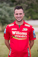 20150626 - OOSTENDE, BELGIUM: Oostende's Antonio Milic pictured during the 2015-2016 season photo shoot of Belgian first league soccer team KV Oostende, Friday 26 June 2015 in Oostende. BELGA PHOTO KURT DESPLENTER