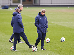 Manchester City Manager, Manuel Pellegrini during the training session at the Etihad Campus ahead of the UEFA Champions League second leg match against FC Barcelona - Photo mandatory by-line: Matt McNulty/JMP - Mobile: 07966 386802 - 17/03/2015 - SPORT - Football - Manchester - Etihad Campus - Barcelona v Manchester City - UEFA Champions League