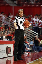 14 November 2016:  Randy Heimerman during an NCAA  mens basketball game between the Indiana Purdue Fort Wayne Mastodons the Illinois State Redbirds in Redbird Arena, Normal IL