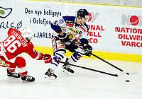 Ishockey , 27. oktober 2013 , Get-ligaen , eliteserien herrer , Tønsberg - Sparta 3-2<br /> Logan Stephenson , Sparta