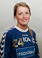 Håndball Eliteserien Kvinner , sesongen 0708 portrett portretter Kathrine Sæthre , Nordstrand NST