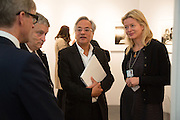 TIM TAYLOR; NORMAN ROSENTHAL; ANISH KAPOOR; LADY HELEN TAYLOR, VIP Opening of Frieze Masters. Regents Park, London. 9 October 2012