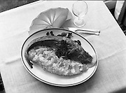 """The National Fish Cookery Award""..29.04.1982..04.29.1982.29th April 1982.1982...This competition sponsored by Bord Iascaigh Mhara was held in The Clare Inn, Newmarket-on Fergus,Co Clare. the competition was open to schools across the country..""Pineapple stuffed cod"", the winning entry from Catherine O'Sullivan,(15),Vocational School, Rathdowney,Co Laois"