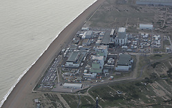 Image ©Licensed to i-Images Picture Agency. Aerial views. United Kingdom.<br /> Nuclear power station at Dungeness, Kent. Picture by i-Images