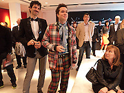 JORN WEISBRODT; RUFUS WAINWRIGHT, Prima Donna opening night. Sadler's Wells Theatre, Rosebery Avenue, London EC1, Premiere of Rufus Wainwright's opera. 13 April 2010