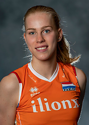 14-05-2019 NED: Photoshoot national volleyball team Women, Arnhem<br /> Demi Korevaar of Netherlands