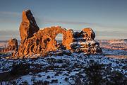 Arches National Park.  Utah.  December, 2018.