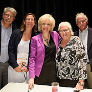 Lesley Stahl during backstage meet/greet after speaking at a Writers on a New England Stage show at The Music Hall in Portsmouth, NH