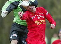 Fotball. Andredivisjon menn. 29.04.2002.<br />FK Tønsberg v Molde 2. 1-1.<br />Espen Ness Lund, FK Tønsberg.<br />Foto: Morten Olsen, Digitalsport