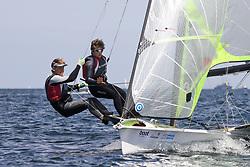 , Kiel - Kieler Woche 17. - 25.06.2017, 49er - DEN 247 - Frederik JUST MELSON - Jakob PRECHT JENSEN - Middelfart Sejlklub