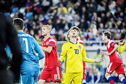 October 11, 2018 - Kaliningrad, Russia - UEFA Nations league, Ryssland - Sverige, 0 - 0. Emil Forsberg, fotbollsspelare, Sverige, (Credit Image: © Bardell Andreas/Aftonbladet/IBL via ZUMA Wire)