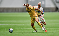Fotball , 14. februar 2020 , Privatkamp , Bodø/Glimt - Strømsgodset 5-0<br /> Lars-Jørgen Salvesen  , SIF<br /> <br /> Marius Lode , Glimt
