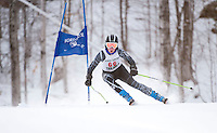 J1 J2 alpine skiing giant slalom Macomber Cup at Dartmouth Skiway January 22, 2012.