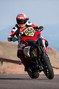 Pikes Peak Intl. Hill Climb. Greg Tracy, Ducati