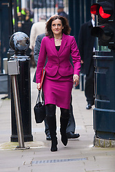 London, March 24th 2015. Members of the Cabinet gather at Downing street for their weekly meeting. PICTURED: Theresa Villiers, Secretary of State for Northern Ireland