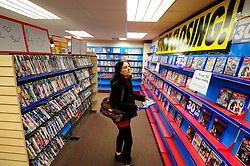 Blockbuster video rental store closing down Reading 2013