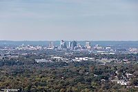 Aerial Photo Of The Nashville Skyline From A Few Hundred Feet In The Air Right After Takeoff From BNA.