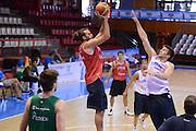 Chamutov 17 Agosto 2012 - qualificazioni Eurobasket 2013 - Allenamento<br /> Nella Foto : LUIGI DATOME<br /> Foto Ciamillo/Castoria