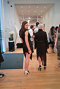 YULI YUFEREV; MARIELLE VAN DE VEN, The Royal College of Art Fashion Gala. Kensington Gore. London. 11 June 2009.