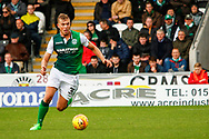 Ryan Porteous of Hiberninan FC during the Ladbrokes Scottish Premiership match between St Mirren and Hibernian at the Simple Digital Arena, Paisley, Scotland on 29th September 2018.