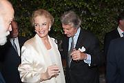 PRINCE MICHAEL OF KENT; PRINCESS MICHAEL OF KENT; ARNAUD BAMBERGER, The Cartier Chelsea Flower show dinner. Hurlingham club, London. 20 May 2013.