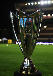 General view of the European Champions Cup before the match - Mandatory byline: Jack Phillips / JMP - 07966386802 - 13/11/15 - RUGBY - Welford Road, Leicester, Leicestershire - Leicester Tigers v Stade Francais - European Rugby Champions Cup Pool 4