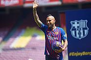 FOOTBALL - FC BARCELONA - ARTURO VIDAL PRESENTATION 060818