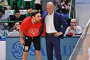 DESCRIZIONE : Campionato 2015/16 Serie A Beko Dinamo Banco di Sardegna Sassari - Dolomiti Energia Trento<br /> GIOCATORE : Stefano Sardara Giuseppe Poeta<br /> CATEGORIA : Fair Play Before Pregame Ritratto<br /> EVENTO : LegaBasket Serie A Beko 2015/2016<br /> GARA : Dinamo Banco di Sardegna Sassari - Dolomiti Energia Trento<br /> DATA : 06/12/2015<br /> SPORT : Pallacanestro <br /> AUTORE : Agenzia Ciamillo-Castoria/C.Atzori
