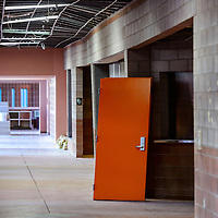 102314       Cable Hoover<br /> <br /> The walls and ceiling in the hallway outside the Gallup High School gymnasium are warped from foundation damage. The hallway is closed and the gym will operate at diminished capacity until repairs are complete.