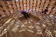Linz, Austria. HÖHENRAUSCH.3<br /> Die Kunst der Türme (The Art of Towers)<br /> Wen-Chih Wang<br /> Bamboo Cupula (Bambus-Kuppel), 2013