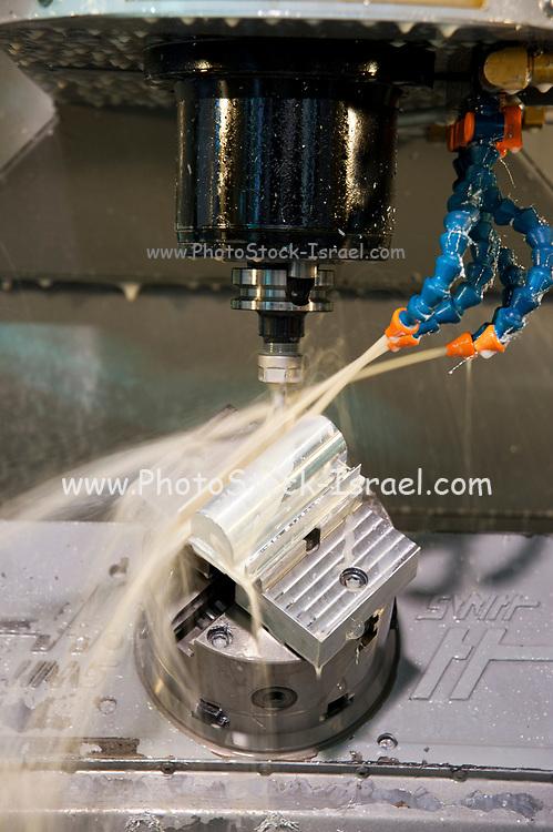 Metal tooling shop floor