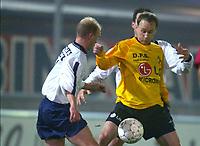 LIER 3/12/2003<br /> SPORT - FOOTBALL - VOETBAL<br /> COUPE DE BELGIQUE - BEKER VAN BELGIE<br /> SK LIERSE -  HERDERA MILLEN<br /> GEIR FRIGÅRD<br /> PICTURE PHILIPPE CROCHET<br /> Digitalsport
