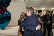 JEFF KOONS; LARRY GAGOSIAN, Frieze. Regent's Park. London. 17 October 2013