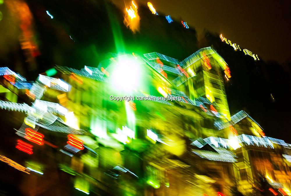Downtown in Chongqing, China, on tuesday 22. jan, 2008