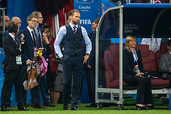 July 11, 2018 - Moscow, Russia - 180711 Head coach Gareth Southgate of England looks dejected during the FIFA World Cup semi final match between Croatia and England on July 11, 2018 in Moscow..Photo: Petter Arvidson / BILDBYRÃ…N / kod PA / 92085 (Credit Image: © Petter Arvidson/Bildbyran via ZUMA Press)