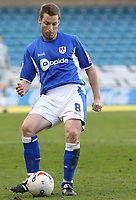 Photo: Alex Pelaez.<br />Millwall v Cheltenham Town. Coca Cola League 1. 03/03/2007.<br />Harris of Millwall