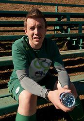 Matjaz Krajnik after the friendly match between Slovenian football journalists and officials of Slovenian football federation at  Hyde Park High School Stadium on June 16, 2010 in Johannesburg, South Africa.  (Photo by Vid Ponikvar / Sportida)